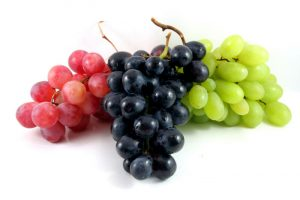 All kinds of grapes